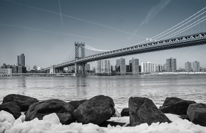 Manhattan Bridge, Brooklyn, East River