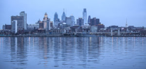 Philadelphia at dawn