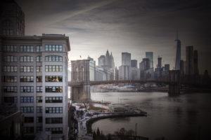 Manhattan, East River Brooklyn Bridge